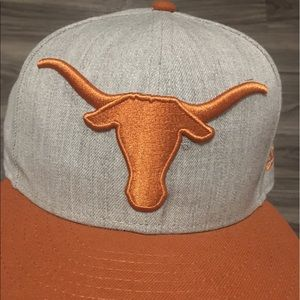 #NCAA University of Texas Fitted Cap